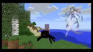 【Minecraft】蜘蛛の女王 結月ゆかりPart2
