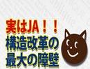 構造改革最大の障壁はJA!?|奥山真司の「アメ通LIVE」