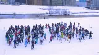 【北海道】チルノのパーフェクトさんすう教室踊ってみたOFF2015【凍結】