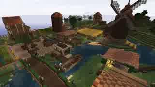 【Minecraft】まったり建築していくよ 農村編 Part1-1【ゆっくり実況】