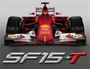 フェラーリSF15-Tにステッカーが貼られて完成するまで