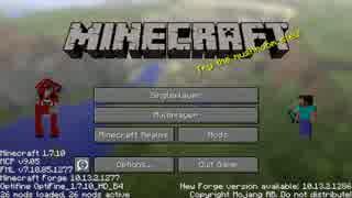 【Minecraft】まじかるクラフト part1【