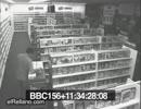 レンタルビデオ店の監視カメラがとらえた心霊現象
