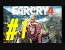 【実況】狂気の最高峰へようこそ。FARCRY4実況プレイ#1