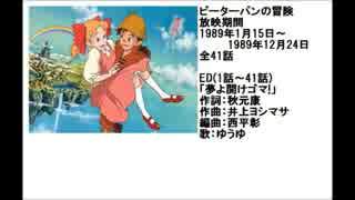 80年代アニメ主題歌集 ピーターパンの冒険