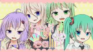 【ゆかりIAミクGUMI】Hey!Stop callin'【