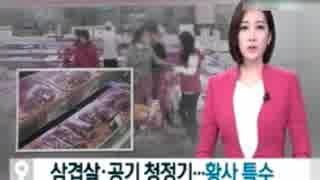韓国らしい2月下旬もおかしなトンスラー報