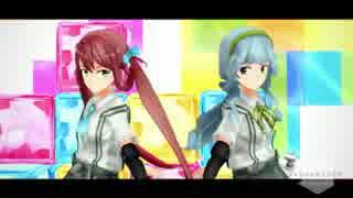 【MMD艦これ】ジュリエッタとロミヲ【モデ
