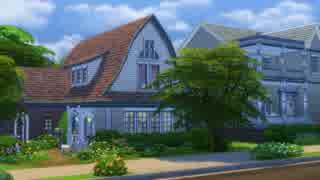 【Sims4】フラワーガーデンコテージ【建築】