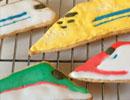 さまざまな新幹線をアイシングクッキーで作ってみた