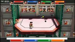 【PS3】ダウンタウン熱血行進曲AS オンライン対戦 勝ち抜き格闘