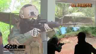 【実弾射撃】兵士のコスプレで実弾射撃を