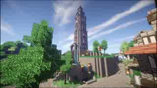 【Minecraft】ゆっくり街を広げていくよ part16-1