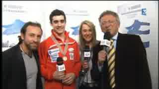 ≪France Interview(翻訳付き)≫ハビエル・フェルナンデス 2015 世界選手権