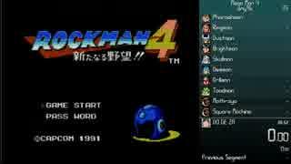 ロックマン4 RTA in 38:38(38:24)