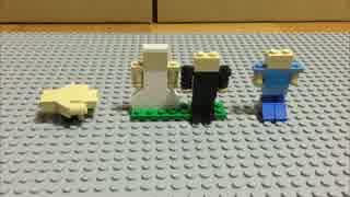 LEGOで100年間動き続けて今は動かないという大型時計と所有者の一生を再現した