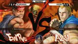 NCR2015 ウル4 TOP16Winners ウメハラ vs