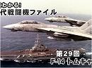 【現代戦闘機ファイル】第29回:F-14 トムキャット