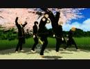 【MMD銀魂】真選組幹部が花見で踊るらしいです【月刊少女野崎くんOP】