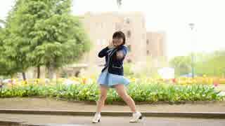 【初投稿】真夏のレターレインボーshort.ver 踊ってみた 【かなでこ】