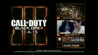 【フルHD】Call of Duty®  Black Ops III Reveal Trailer【60FPS】