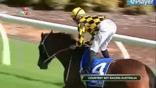 【競馬】レース中、騎手のお尻が丸出しの