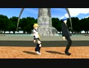 【MMD】 鏡音レンとKAITOでGLIDE