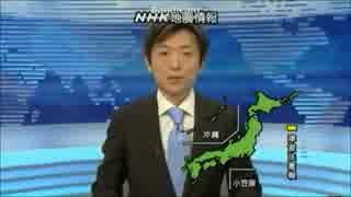 地震速報 震度6弱以上(1994~2014)