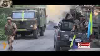 【ウクライナ】ドネツクで激しい戦闘【銃撃戦】