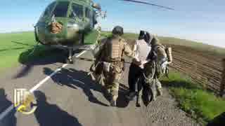 【ウクライナ】武器密輸車両を急襲【高画質】