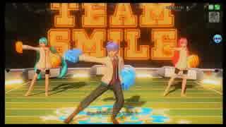 【DIVA FT】SING&SMILE PV【テレカクシパーカー青色×インタビュア組】