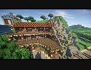 【Minecraft】まったり建築していくよ 滝聖堂の街編part16【ゆっくり実況】