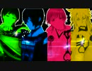 【MMD刀剣乱舞】恋愛フィロソフィア【三日月、鶴丸、小狐丸、一期一振】