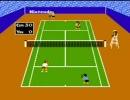 [プレイ動画] テニスを二人でプレイ