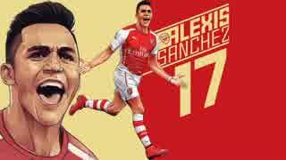 【Arsenal】 14-15 アレクシス・サンチェス 全ゴール+α
