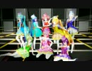 【MMD】 Technologic  Magical Girls
