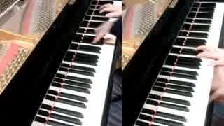 2台ピアノで『サンレス水郷』弾いてみた