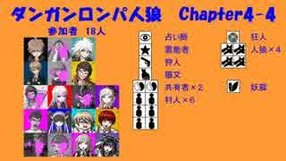 【ダンガンロンパ人狼】Chapter4-4