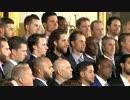 サンフランシスコ・ジャイアンツ、オバマ大統領に表敬訪問