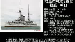 戦艦朝日と日露戦争 前編