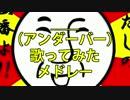 【作業用BGM】__(アンダーバー)ソロ10曲歌ってみたメドレー!
