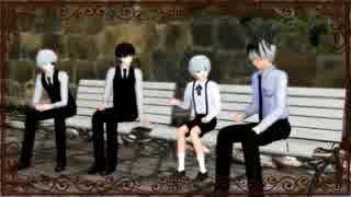【MMD喰種:re】カネキと琲世でマイルーム