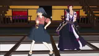 【MMD刀剣乱舞】刀剣男士と艦娘でkiss_me_