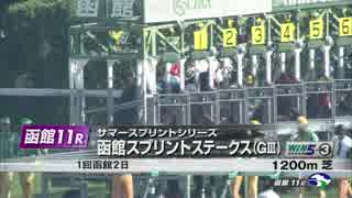 【競馬】2015年 函館スプリントS ティーハーフ【GⅢ】