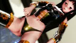 【東方MMD】姫様がボンデージで踊ってるよ(R-18)【輝夜】