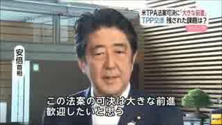 【TPP】無抵抗のまま推し進められる日本解体
