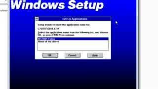 【インタネット老人会】DOS6.22とWin3.11をVMで導入してみた