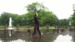 【ただのん】モザイクロール踊ってみたり滑ったり【雨乞い】