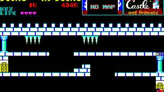 PC-8801版 THE CASTLE プロテ