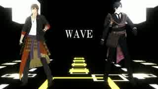【MMD刀剣乱舞】 WAVE 【倶利伽羅・燭台切】